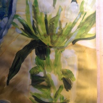 Tulips, 2013, acrylic