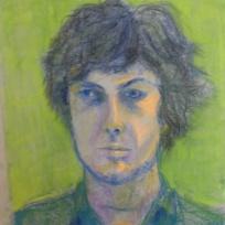 Portrait, Alison Harper course, Pastel 2012
