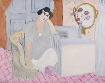 The Inattentive Reader 1919 by Henri Matisse 1869-1954