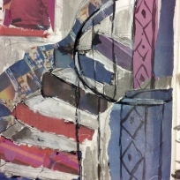 Using cut up Metro to create colour collage