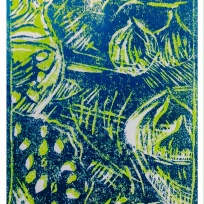Lino print 2 colours