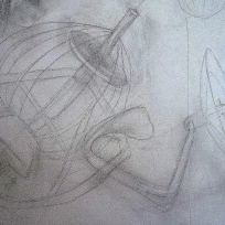 2 Whisk, dough hook and K beater drawing
