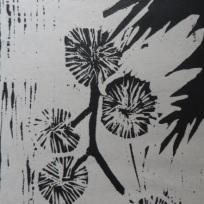 5 woodcut, Joan Higgins
