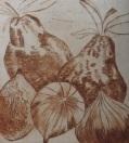 4 monoprint, Joan Higgns