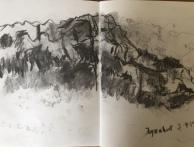 Cliffs at Eyzahut, Drome